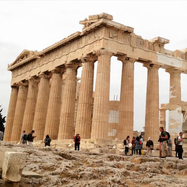 Mujeres x el mundo Partenon