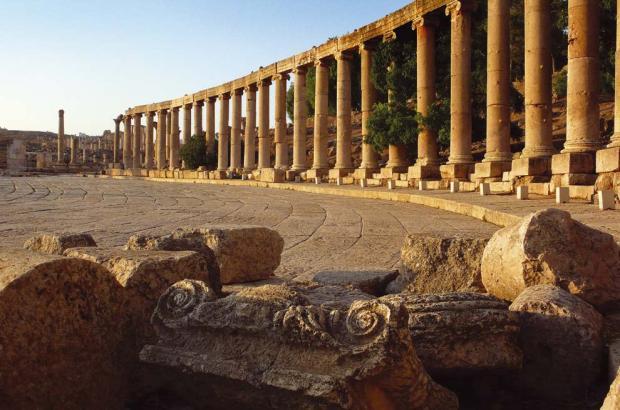 Ciuidad grecorromana de Jerash