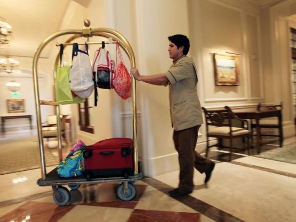 Mujeres x el Mund la propina enel hotel