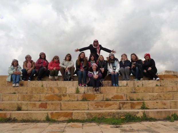 Mujeresxelmundo en Jordania con Nabil