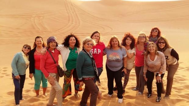 Mujeresxelmundo en el desierto