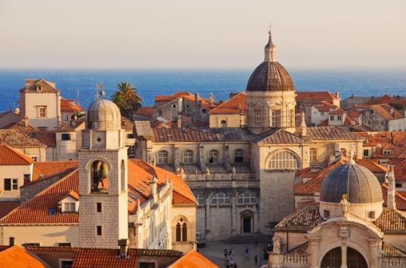 Dubrovnik techos rojos 2